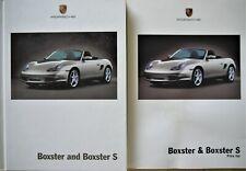 Porsche Boxster & Boxster S, Brochure Plus Specification & Price list 2003