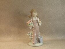 More details for lladro vintage porcelain figurine no. 5217 'spring'  mint condition