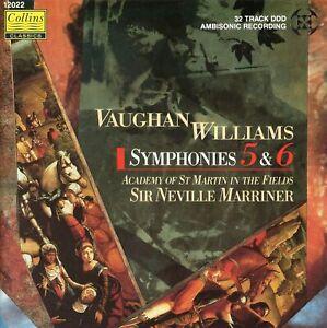 Vaughan Williams - Symphonies Nos. 5 & 6 / Sir Neville Marriner
