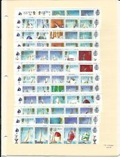 Solomon Islands Collection, #570/4, 393-6, 425 Mint NH, Sailing America Cup