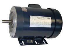 AC MOTOR, 1/3HP, 1725RPM, 3PH, 208-230V/460V,  56C/TEFC, WITH BASE