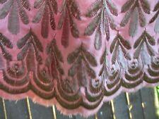 """Pure Silk Miss Selfridge  """"Kookie Monster!"""" pink skirt, Silk lined in 12"""