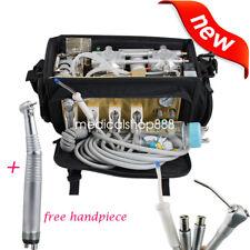DHL Portable Handbag Dental Unit Air Compressor Suction System Syringe handpiece