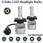For Honda CRV CR-V 2007-2014 LED Headlight High&Low Beam Bulbs 6000K White Combo
