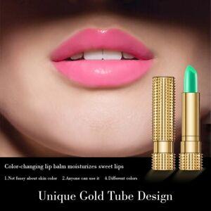 Aloe Vera Magic Lip Balm Temperature Color Change Natural Moisture Lipstick Gift