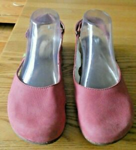El Naturalista Wakatua Pale Pink Slip on Shoes EU38, UK5 Superb & Clean