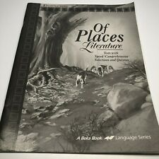 Abeka 8th Grade Of Places Literature (4th ed) Teacher Quiz/Test Key Unmarked