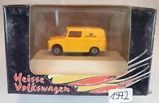 Brekina 1/87 25904 VW Fridolin Heisse Volkswagen Deutsche Bundespost OVP #1972