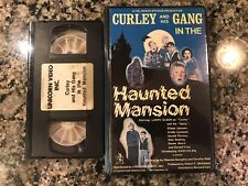 Curly And His Gang In The Haunted Mansion Vhs! 1948 Horror! House The Haunting