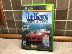 OutRun 2006: Coast 2 Coast (Microsoft Xbox, 2006) Case-disc-manual