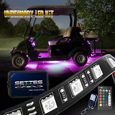 LED Golf Cart Lighting Under Glow Neon Lights Kit for Caddy Club Car EZGO 12V