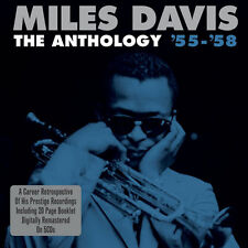 Miles Davis ANTHOLOGY '55-'58 Box Set ALL STAR SEXTET/QUINTET And Horns NEW 5 CD