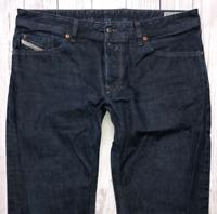 Mens DIESEL Waykee Jeans W36 L30 Blue Regular Straight Wash 0088Z