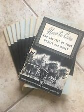 How To Care For The Feet Of Your Horses And Mules 1943 Pamphlet Booklet Phoenix