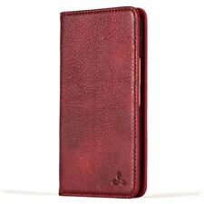 Snakehive HTC 10 Premium Slimline Leather Wallet Folio Case W/card Slots Ruby Red