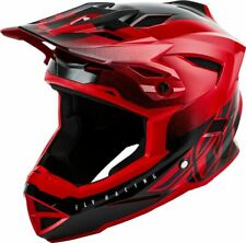 Fly Racing 2019 Kids Youth Default Dither MTB Downhill BMX Helmet Red / Black