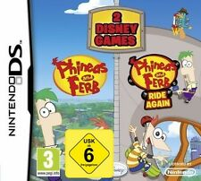 Nintendo DS NDS Phineas und & Ferb Doppelpack 1 + 2 Volle Fahrt Neuware