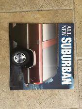 1998 HOLDEN NOT CHEVROLET SUBURBAN V8 PREVIEW AUSTRALIA BROCHURE