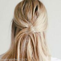 Neu Damen Dreieck Haarspange Haarklammer Haarclip Haarschmuck Brautschmuck