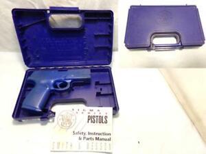 "Factory SMITH & WESSON S&W Molded Gun Box & Manual SIGMA SW9F 4.5""  Similar OK"