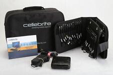 CelleBrite Desktop v1.45 Cellphone Forensics Data Transfer Case Manual Cords 1D