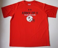 Men's UNDER ARMOUR BOWLING GREEN STATE UNIVERSITY FALCONS Shirt size large L