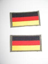 2 STÜCK- AUFNÄHER- PATCH- PATCHES- APPLIKATION - DEUTSCHLAND- FAHNE- FLAGGE
