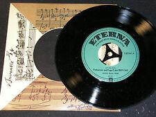GÜNTHER RAMIN (Orgel)  J.S.Bach - Präludium und Fuge / DDR SP 1956 ETERNA 520041