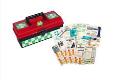 UFirst First Aid Kit : Basic General Purpose Kit in Hard Plastic Portable Case