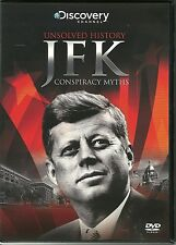 UNSOLVED HISTORY JFK CONSPIRACY MYTHS DVD - DISCOVERY CHANNEL  22 11 63
