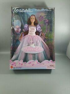 Fairytale Barbie FAIRY QUEEN TERESA Doll Swan Lake NIB