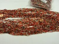 "100 Strands 36"" Glass Seed Bead Necklaces Wholesale Bulk Lot Clearance (NP-43B)"