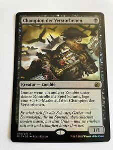 Champion der Verstorbenen - Innistrad Mitternachsjagd - Foil MTG Magic