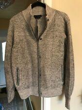 Autograph 16 Wool Mix Knitted Jacket Cardigan New Grey