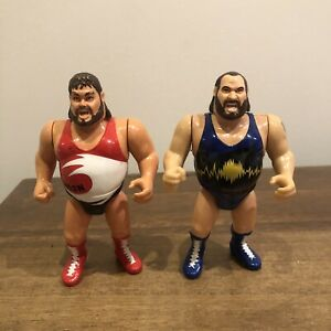 WWF/WWE The Natural Disasters Earthquake Typhoon Hasbro Action Figure Series 3