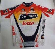 Lotto Davitamon Fahrrad Rad Trikot BW 53 cm Größe XL