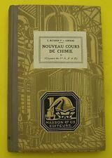 Cours de Chimie élémentaire - C. Matignon, J. Lamirand  - 1929