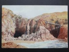 Jersey: Plemont, The Caves, Les Grottes by J.Salmon No.1860 Art by C.T. Howard