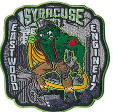 "SYRACUSE FIRE DEPT. E- 17 ""OSCAR THE GROUCH "" NEW Jan.2019(NEW YORK) FIRE PATCH"