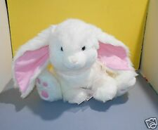 "16"" Russ Powerpuff Large Pink Ears Bunny Rabbit Stuffed Plush Animal Lovie"