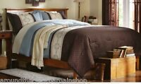 Jessica 4 Piece Floral Embroidered Comforter Set Brown -Full