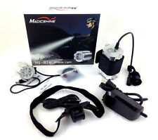 MagicShine MJ856 1600 Lumen 4 mode LED Bike Light MJ828 Batt + Helmet Mount Kit
