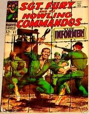 SGT FURY 57 VG SERGEANT & HIS HOWLING COMMANDOS 1963 MARVEL NICK AGENT OF SHIELD