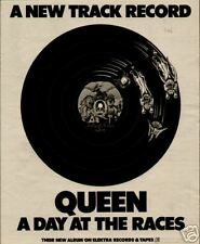"1977 Queen ""A Day At The Races"" Album Promo Ad"
