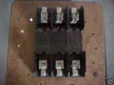 FUSE BLOCK, GOULD SHAWMUT, 100A, 250V, 3P, P/N 21038R