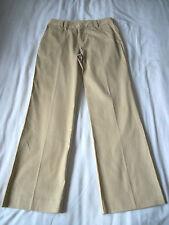 WMNS 6 GOLD CORDUROY-LIKE DRESS PANTS by RALPH