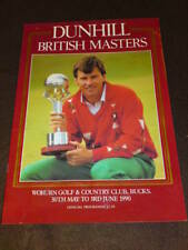 Golf - Dunhill British Masters 1990 8pp