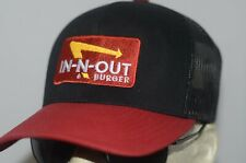 In N Out Burger Hat Fast Food Baseball Cap California Restaurant No Delay USA
