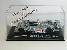Miniature IXO Altaya 24h du Mans DOME S101 2002 Metal Diecast 1/43e