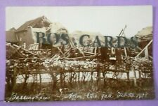 More details for rp postcard feb 22nd,1908 storm damage after the gale bassingham nr lincoln